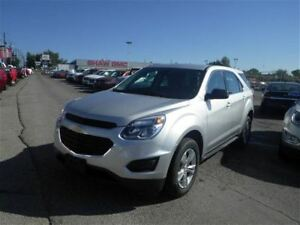 2016 Chevrolet Equinox LS   Leather   Backup Cam   AWD