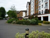 Well furnished 1 bed flat in gated ,lift serviced development in Kingston upon Thames