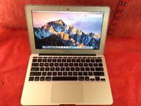 Macbook Air 11 inch A1465 1.4GHz Intel Core i5 4GB RAM 128GB 2014 + WARRANTY, NO OFFERS - L697