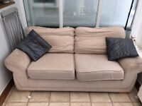 2 seater sofa New home needed. FREE TO COLLECT