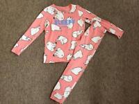 New next girls pyjamas nightwear age 6