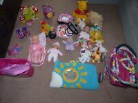 BUNDLE OF KIDS (GIRL) TOYS