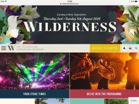 WILDERNESS PACKAGE: 2 TICKETS & YURT