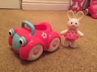ELC car and bunny