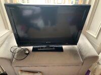 """Sony Bravia 32"""" LCD TV w/ Remote"""