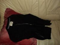 Medium Black ladies jacket.