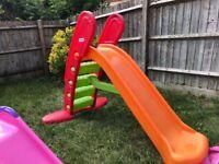 Sold - Children Slides (Outdoor/Garden)