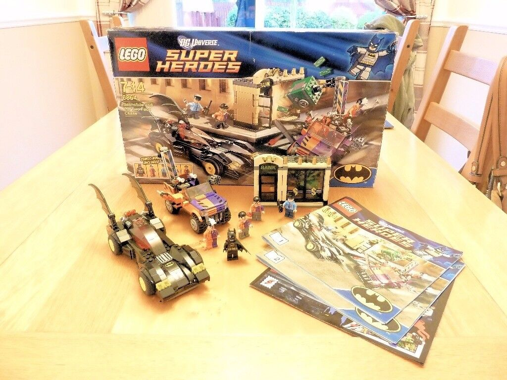 Lego Super Heroes (6864) Batmobile and the Two Face Chase