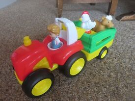 Fisher Price Little People Tow 'N Pull Tractor