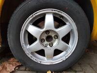 "15"" Vauxhall Cesaro wheels 4x100 Vauxhall fitment Corsa Nova Astra Calibra C20XE C20LET conversion"