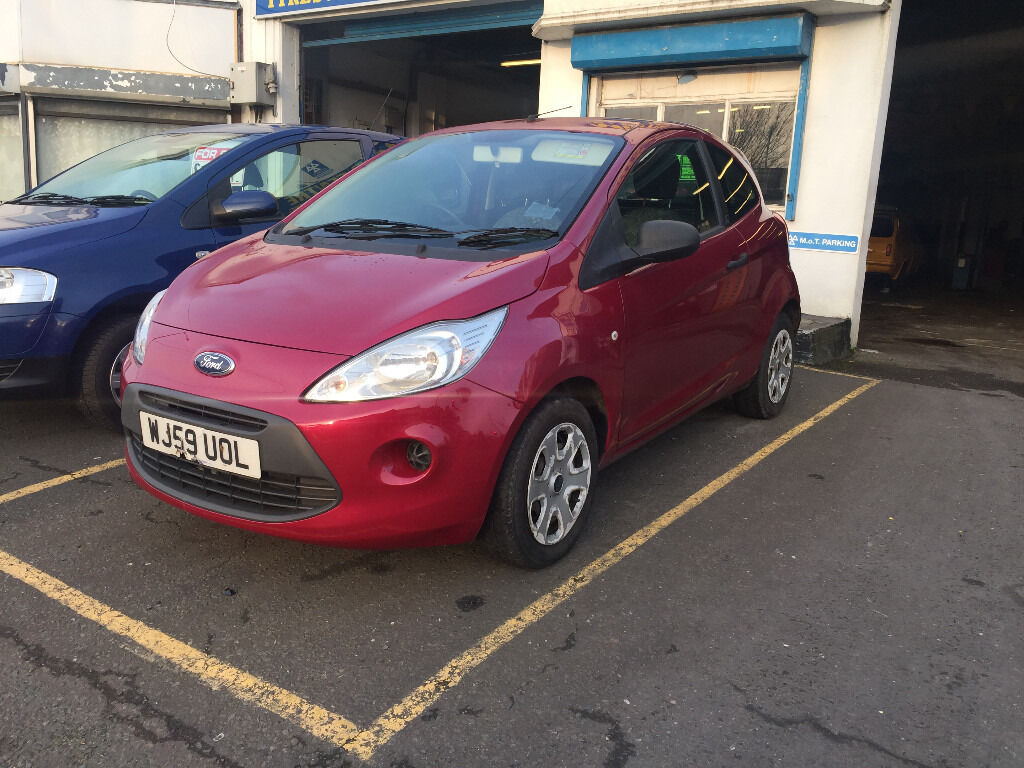ford ka 1 2 petrol manual 3 door hatchback 2009 purple new. Black Bedroom Furniture Sets. Home Design Ideas