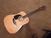 Lorenzo left handed acoustic guitar