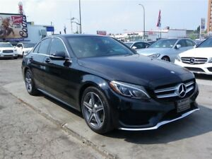 2015 Mercedes-Benz C-Class C400 4MATIC|AMG PKG|GPS|B.CAMERA|PANO