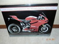 Ducati superbike tin picture