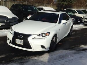 2015 Lexus IS 250 AWD F-SPORT, NAV