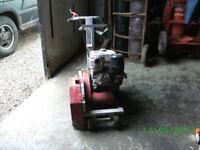 FLOOR SAW with Honda 12hp engine