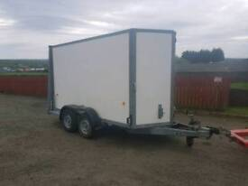 Ifor williams 10ft box trailer with combination rear door immaculate condition