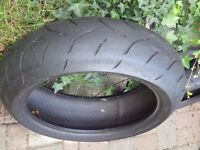For sale Dunlop Sportmax motorbike tyres / front & rear