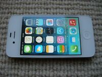 iPhone 4 16GB, unlocked, like new rarely used by lady owner