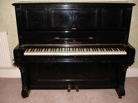 Upright Piano Ed Westermayen Iron frame