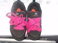 Girls heelys