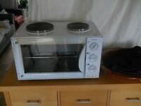 BELLING STYLE PORTABLE ELECTRIC OVEN AND HOB