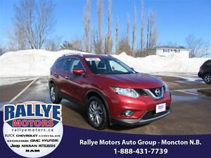 2014 Nissan Rogue SL! AWD! Back Up! Sunroof! Heated! Leather!