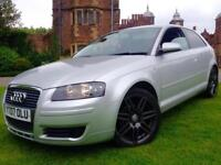 2007 AUDI A3 1.9 TDI SPECIAL EDITION RS4 ALLOYS FULL HISTORY NOT 118D FR GOLF GT TYPE R 325D ASTRA