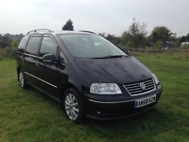 Volkswagen Sharan 2.0 TDI Sport 5dr 12 Month MOT with no advisory