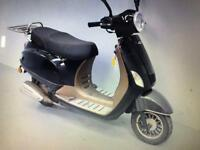 2014 Plate Lintex 50cc Moped, fast scooter, good runner. Like Vespa. Bargain