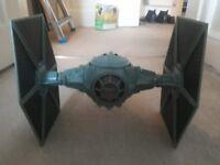 Star Wars/Spider-Man vehicle toys