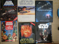 collection of star wars books need to go (price is open)