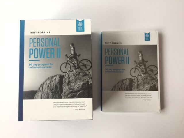 Tony Robbins Personal Power II 30 Day Programme for Unlimited Success -  CD/DVD All Discs Like New | in Leeds City Centre, West Yorkshire | Gumtree