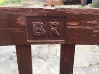 Rare vintage British Rail chair
