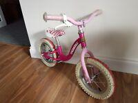 Girls Raleigh balance bike