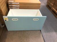FRITIDS, Box, light blue, 90x49x48cm, WAS £29 IKEA Warrington, #bargaincorner