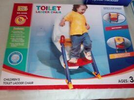 Toilet ladder chair by Loz