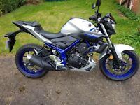 Yamaha MT-03. 320cc Motorbike. 66 Plate. VGC.