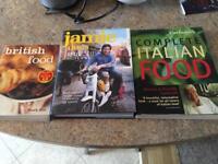3 cook books