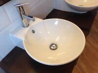 Bathroom Vanity Basins and stands