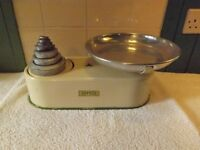 Harper Vintage Kitchen Scales with weights