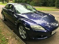 Mazda RX-8 192ps 2616cc Petrol 5 speed manual 4 door coupe 56 plate 26/10/2006 Blue