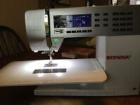 BERNINA 550qe SEWING MACHINE with BSR