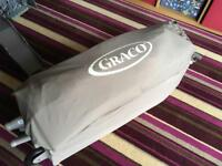 "Graco ""I love my bear"" Travel Cot with Napper"