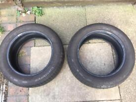 Tyres 2 x good year 205 55 16
