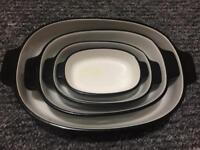 Brand new kitchenAid casserole dish set