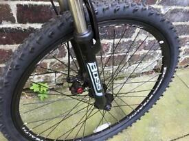 """Boss 26"""" men's stealth full suspension mountain bike"""