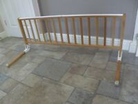 Tomy Wooden Kids Bed Guard / Rail
