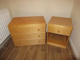 Matching Chest and Bedside Table