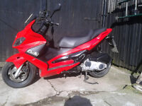 Gilera NEXUS 125 . good condtion.12 months mot.nice ride